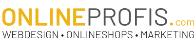 Onlineprofis – Webdesign – Onlineshops – Markenbildung Logo