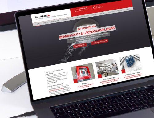 MH-PLAN GmbH | Internetseite